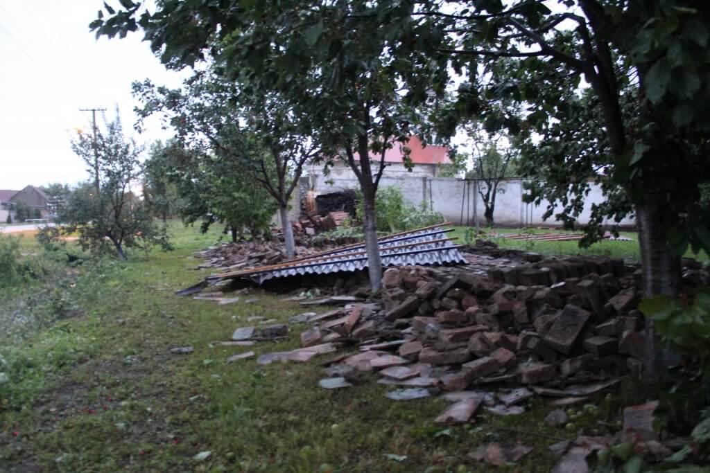 Posledice nevremena u Bašaidu (Foto: Goran Birimac)