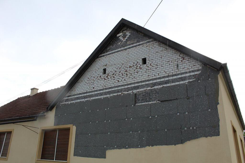 Posledice nevremena na objektu u Bašaidu (Foto: Goran Birimac)