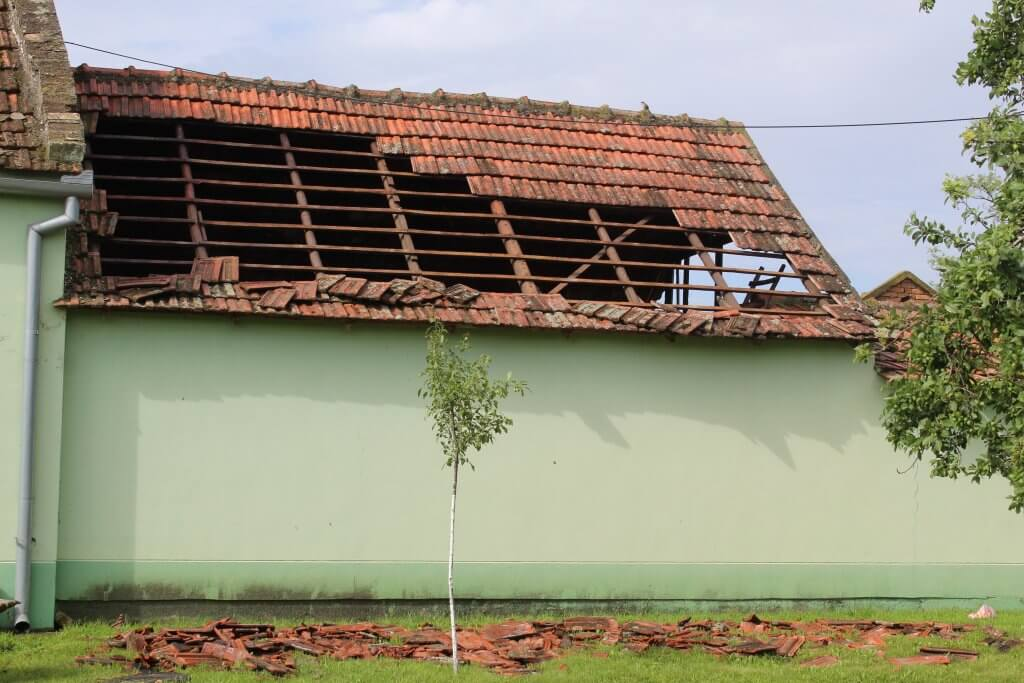 Crep je u Bašaidu pretrpeo veća oštećenja (Foto: Goran Birimac)