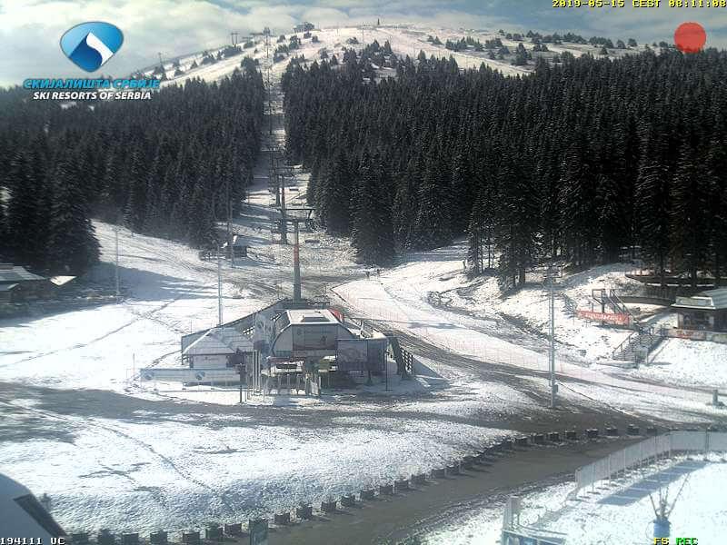 Sneg na  Kopaoniku 15. maj (Izvor: Skijališta Srbije)