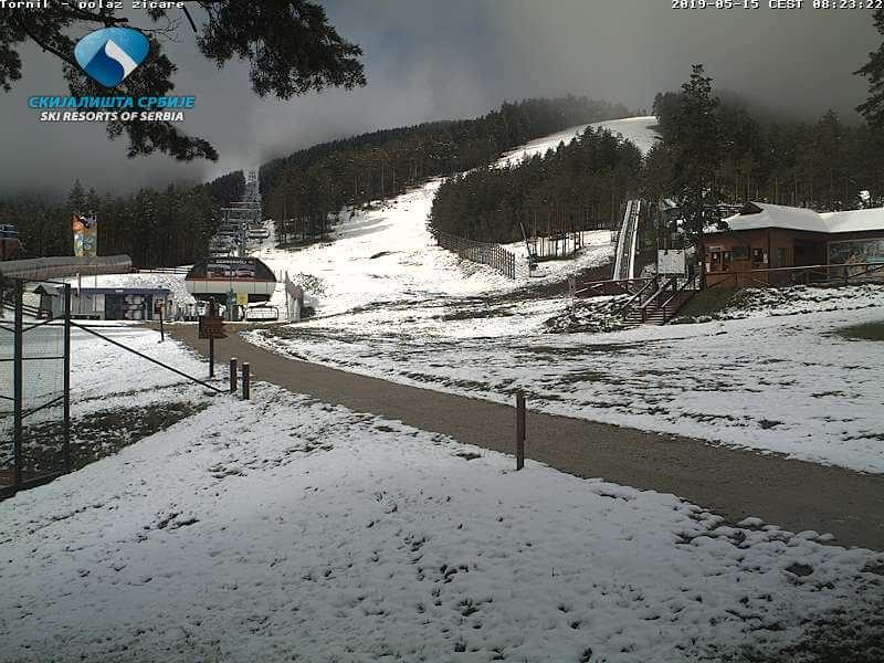 Zlatibor je takođe pod snegom jutros (Izvor: Skijališta Srbije)