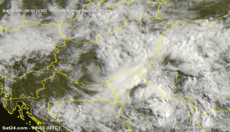 Satelitski snimak za 9h