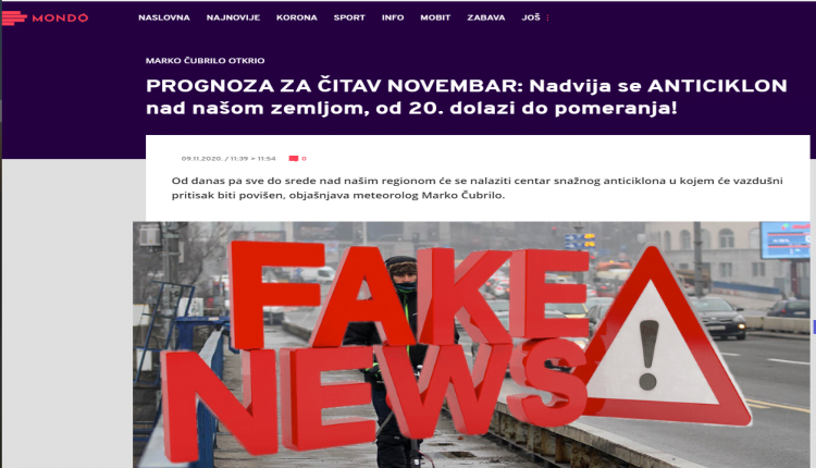 Mondo fake news