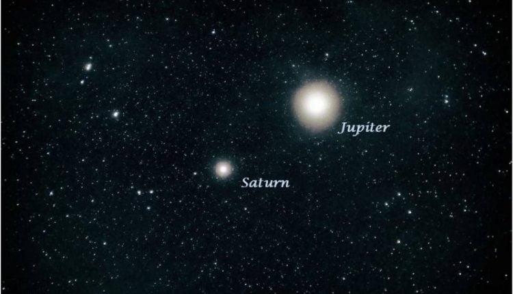 Konjukcija Juptera i Saturna